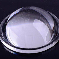 Wholesale 44MM LED Optical Glass Convex lens Projector Reflector for Lamp Light