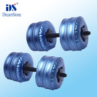 Wholesale New adjustable dumbbells Water Poured Dumbbell EMS pairs