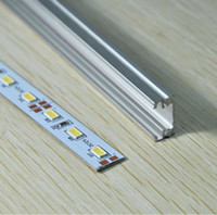 DC alloy slot - DHL EMS High Bright SMD5630 leds M m Cool White Led Bar Strip Lights With Aluminum Alloy Slot