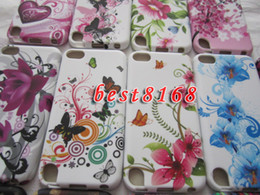 Wholesale Flower floral starfall scenery TPU Soft silicone gel Case skin cases For Ipod touch th