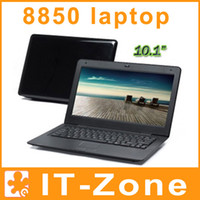 Wholesale 10 inch Win CE Android Laptop Via8850 Netbook UMPC Notebook GB Built in Webcam Flash HDMI