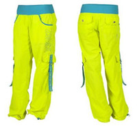 Wholesale New arrival Woman dance pants sportswear shaping pants soldier lime