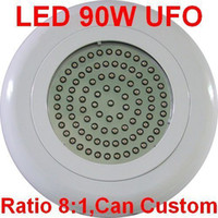 Wholesale LED W Watts UFO Full Spectrum Hydroponic Red Blue Plant Lamp Grow Light O176