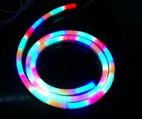 Wholesale 10Meter led M RGB LED neon light V Decoration Lighting led rainbow lamp