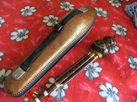 Wholesale Newest Chinese musical instruments Hulusi free case