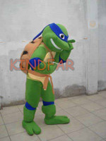 Wholesale Teenage Mutant Ninja Turtles adult size Cartoon Mascot Costume Fancy Dress Party Suit