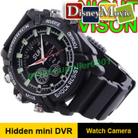 Wholesale Hot selling gb CCTV video Record fps mini hidden DVR Waterproof Spy watch camera