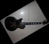 6 Strings left hand - New Custom Lefty Electric Guitar ebony fretboard fretside binding In Left Handed black