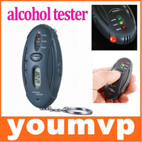 Wholesale Digital LCD Alcohol Tester Analyzer Breath Breathalyzer