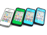Wholesale 5PCS Water Dirt Snow Shock Proof Case For iphone S