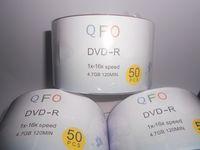 4.7GB dvd media - Blank Discs X DVD Media DVD R Printable QFO Record G Min Pack Spindle Pack