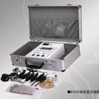 Wholesale Microcurrent Face Lift beauty Machine Salon Skin care Toning Bio hot cold hammer Galvanic equipment