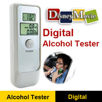 Wholesale Digital Breath Alcohol Tester Analyzer Breathaly with Clock Dual LCD Display Drive Safety