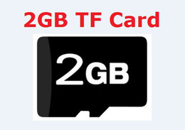 Real 2GB Micro SD HC Memory Card Full Capacity 2 GB MicroSD TF Flash mini Cards w adapter phone DVR