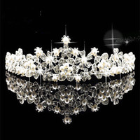 Wholesale Wedding Bridal Floral Beads Jewels veil tiara crown headband