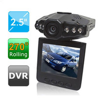 Wholesale Hot Car DVR Rotatable Degrees inch LCD Colorful Screen LED Degrees