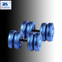 Wholesale New dumbbells for sale Water Poured Dumbbell By EMS pairs