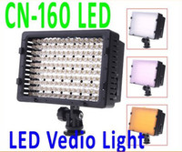 Wholesale Hot CN LED Best Selller Video Camera Light DV Camcorder Photo Lighting K For Canon Nikon
