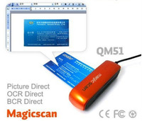 Wholesale Newest QM51 Mini USB Portable Scanner high resolution OCR BCR Direct Function