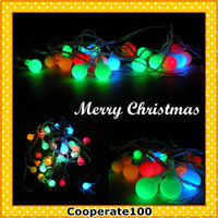 Wholesale Hot Christmas decorations Supplies Christmas tree decorations Christmas lighting Ball LED lantern