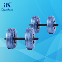 Wholesale Water Poured Dumbbell it can be adjustable have RoHS approved pairs EMS
