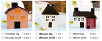Wholesale 120pcs Polyresin Country House X France Resin House Ornament Gift Big size