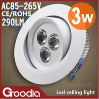 Wholesale A full set of W led searchlights ceiling lamps Tongdeng living room lights bedroom lamps aisle