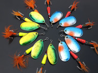 Wholesale FISHING LURES SPINNER HOOK BAITS g