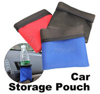 Pocket Holder Nylon  Brand New Hot Sell Simple Design Lovely Multi-function Car Mobile Phone Pocket