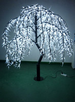 Artificial Plants LED  Fashion&popular-1.8m LED tree light willow tree for wedding holiday garden street decoration