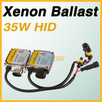 Wholesale 35W HID Xenon Lamp Replacement Ballast For H3 H4 H6 H7 H10 H11 H13 D2R D2S Black Silver