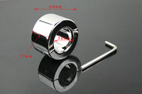 Steel ball weight stretcher - real Stainless Steel Ball Weight Ball Stretcher Male BDSM Chastity Ring g