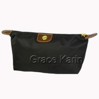 Wholesale 2015 Fashion Cheap Women Girls Women Zipper Travel Makeup Cosmetic Bag Pouch Color BG270
