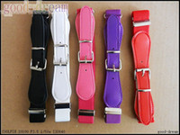 Wholesale Baby elastic belt candy color belt Children s rubber band high elastic Belts Buckles