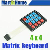 Wholesale 20PCS New x4 Matrix Array Key Membrane Switch Keypad Keyboard BV104 CF