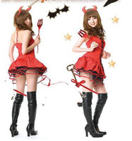 M red tube sexy - Stage equipment The little red devil Little angel Little witch DS steel tube dance clothes clothing