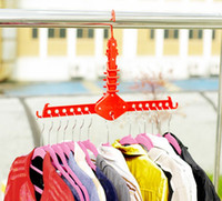 Wholesale Home daily magic multifunctional skidproof magic hanger