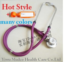 Wholesale High quality sprague rappaport type improved dual double head multifunctional stethoscope Standard M