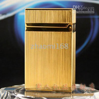Wholesale Gold lighter in France man Business gifts Technolog men s LIGHTER Business Gifts
