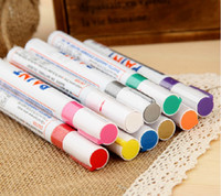 Wholesale 12x Paint Pen car Motorcycle Tyre Tire Tread Marker White waterproof makers many colors