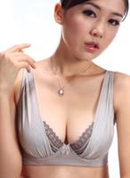 Wholesale Hot Big Bra New Thin Models Bra Flash The Glass Yarns Fashion Gather Bra Sexy Underwear