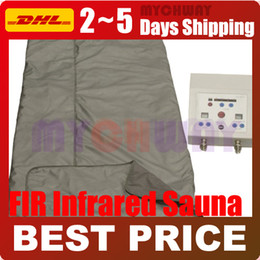 Wholesale NEW PORTABLE DETOX FAR INFRARED SAUNA WRAP FIR SLIMMING WEIGHT LOSS BLANKET HOME USE