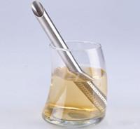 Wholesale Filter Tea Balls Stainless Steel Tea Strainers Oblique Tea Stick Tube Tea Infuser Steeper