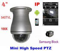 Wholesale CCTV Security Mini High Speed Dome X PTZ Network IP Camera With Original Samsung Block Free EMS