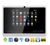 Wholesale Allwinner A13 Q88 Tablet PC Android Slim quot Capacitive WIFI Camera GHz MB GB