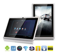 Wholesale 7 inch Tablet PC Q88 Capacitive Allwinner A13 GHz Android MB GB WiFi Webcam