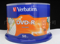 Wholesale New Verbatim X DVD Media DVD R Blank Discs Printable Record G Min One Roll