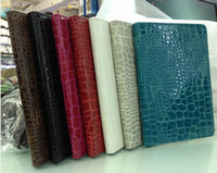 For Apple apple ipad cradle - Luxury PU Crocodile Leather Case Cover Cradle Stand for Apple iPad Mini quot inch