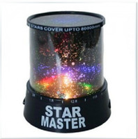 Wholesale The sky star constellation projector light star master sound asleep LED lamp Christmas star master