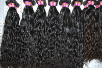 "Malaysian Hair Natural Wave Under $50 Malaysian Virgin Hair Remy Human Hair Weave Grade 5A 8""-26"" Natural Color 1pcs Natural Curly 100% Untreated Hair DMS75"